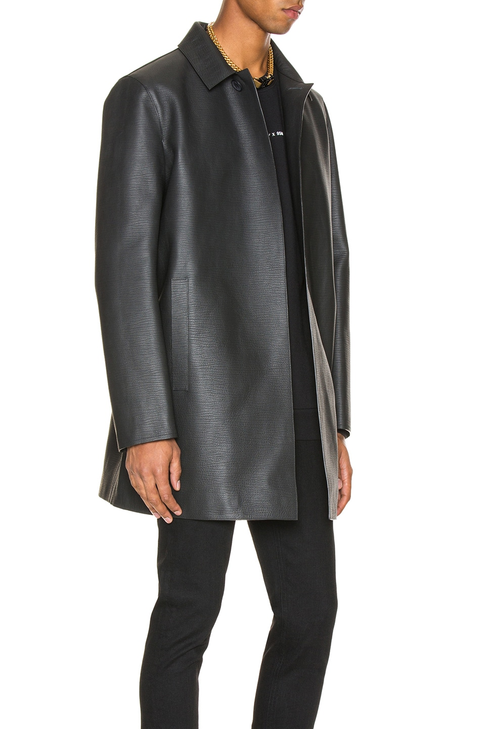 Image 2 of 1017 ALYX 9SM Leather Coats in Black