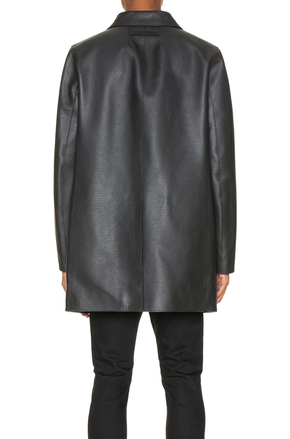Image 3 of 1017 ALYX 9SM Leather Coats in Black