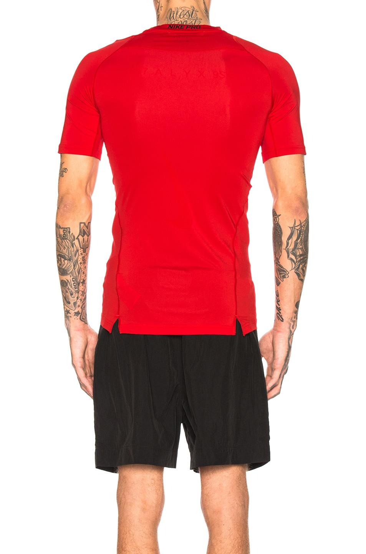Image 3 of 1017 ALYX 9SM Nike Sponge Laser Logo Tee in Red