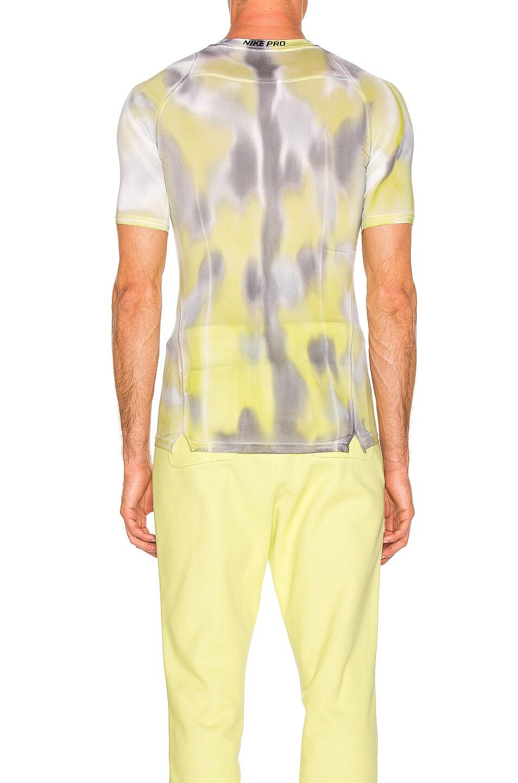 Image 3 of 1017 ALYX 9SM Nike Sponge Camo & Transfer Tee in Neon Camo