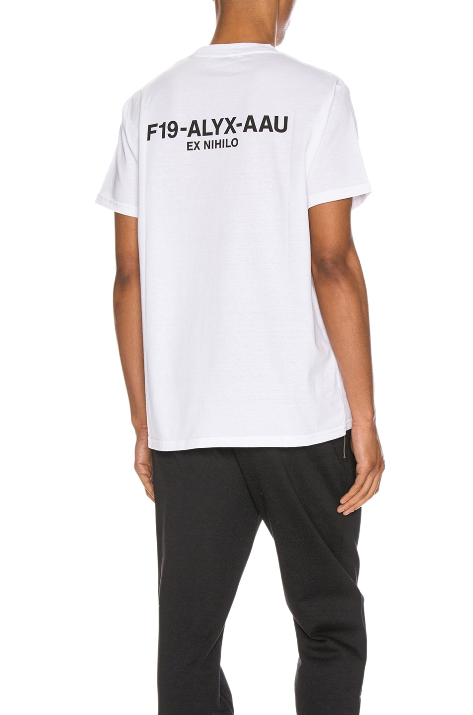 Image 1 of 1017 ALYX 9SM Visual Tee in White