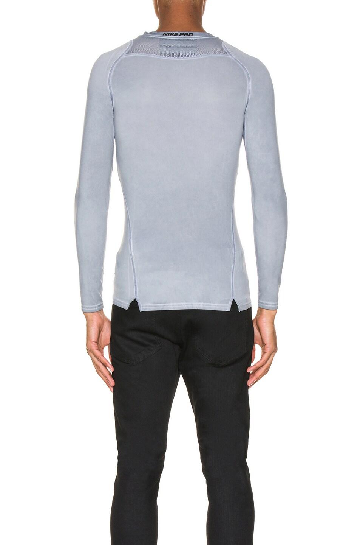 Image 4 of 1017 ALYX 9SM Nike Long Sleeve Dye Tee in Grey
