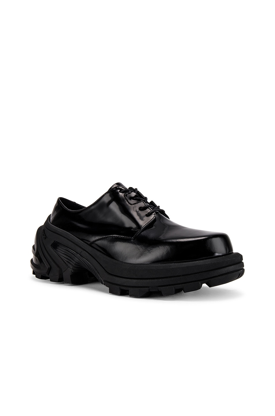 Image 1 of 1017 ALYX 9SM Lace Up Low Derby With Removable Vibram Sole in Black