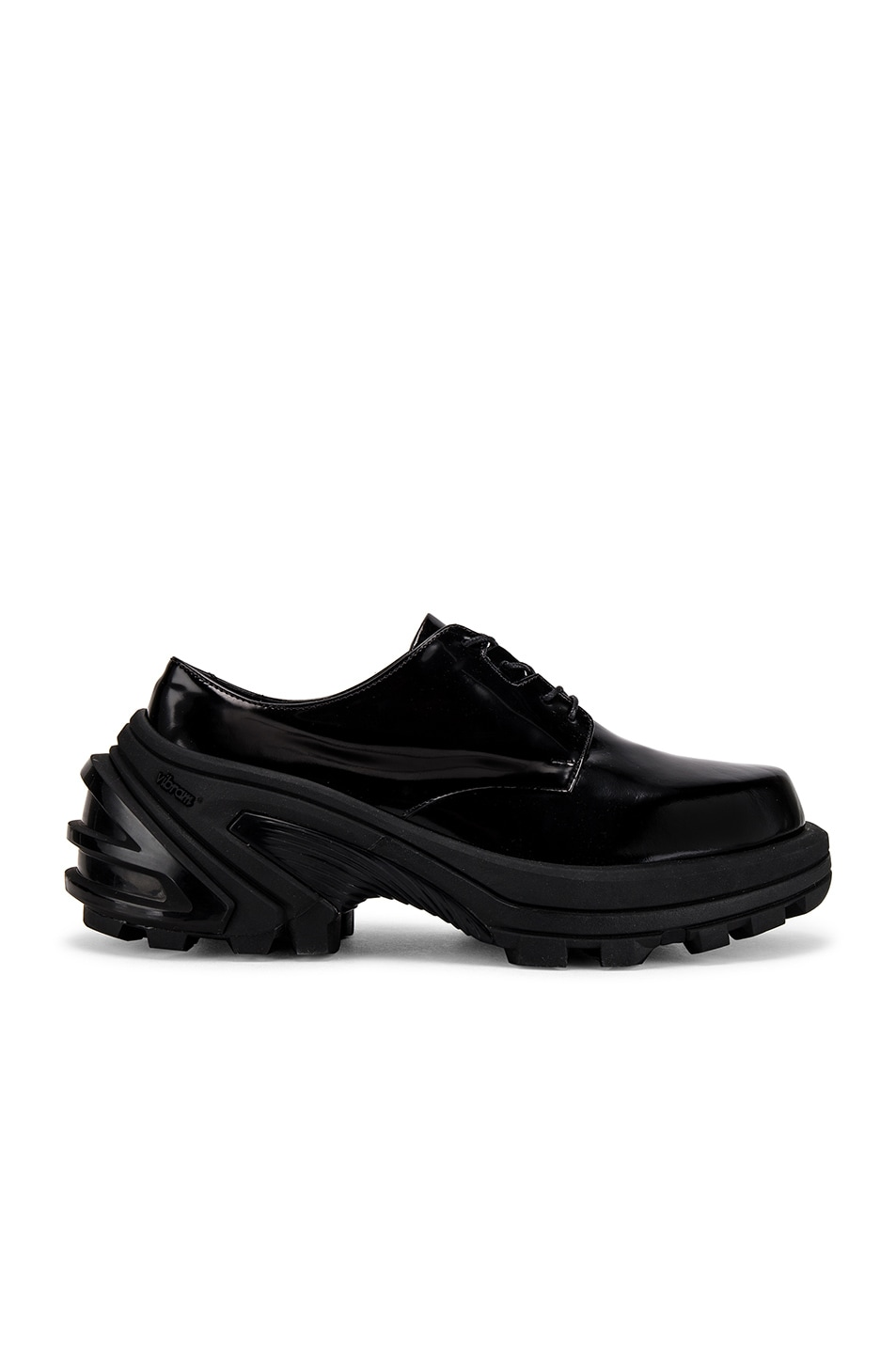 Image 2 of 1017 ALYX 9SM Lace Up Low Derby With Removable Vibram Sole in Black