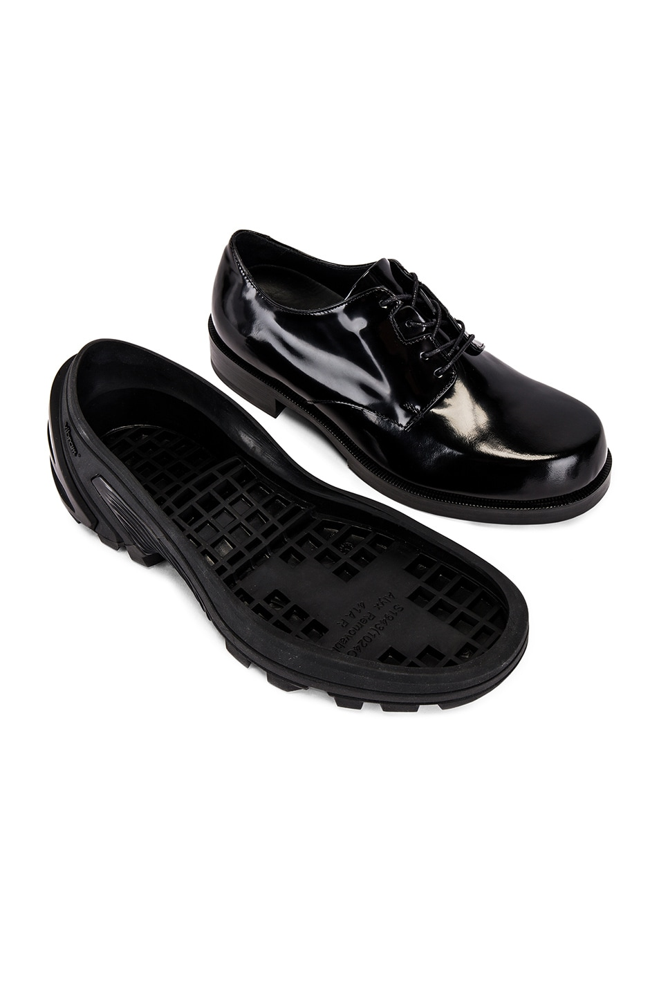 Image 7 of 1017 ALYX 9SM Lace Up Low Derby With Removable Vibram Sole in Black