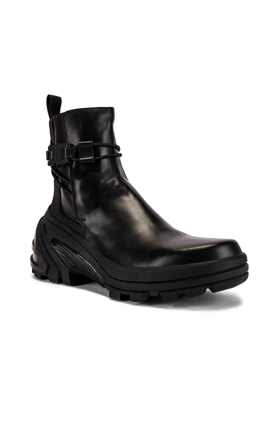 Image 1 of 1017 ALYX 9SM Low Buckle Boot With Fixed Sole in Black