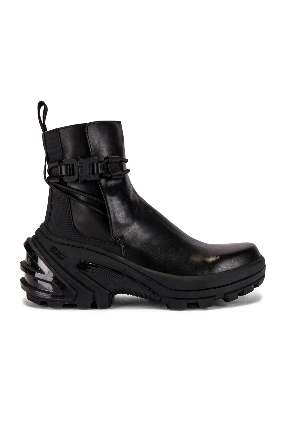 Image 2 of 1017 ALYX 9SM Low Buckle Boot With Fixed Sole in Black