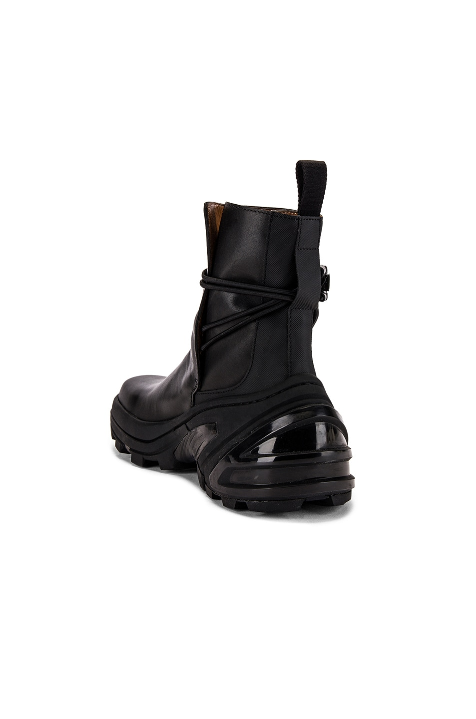 Image 3 of 1017 ALYX 9SM Low Buckle Boot With Fixed Sole in Black
