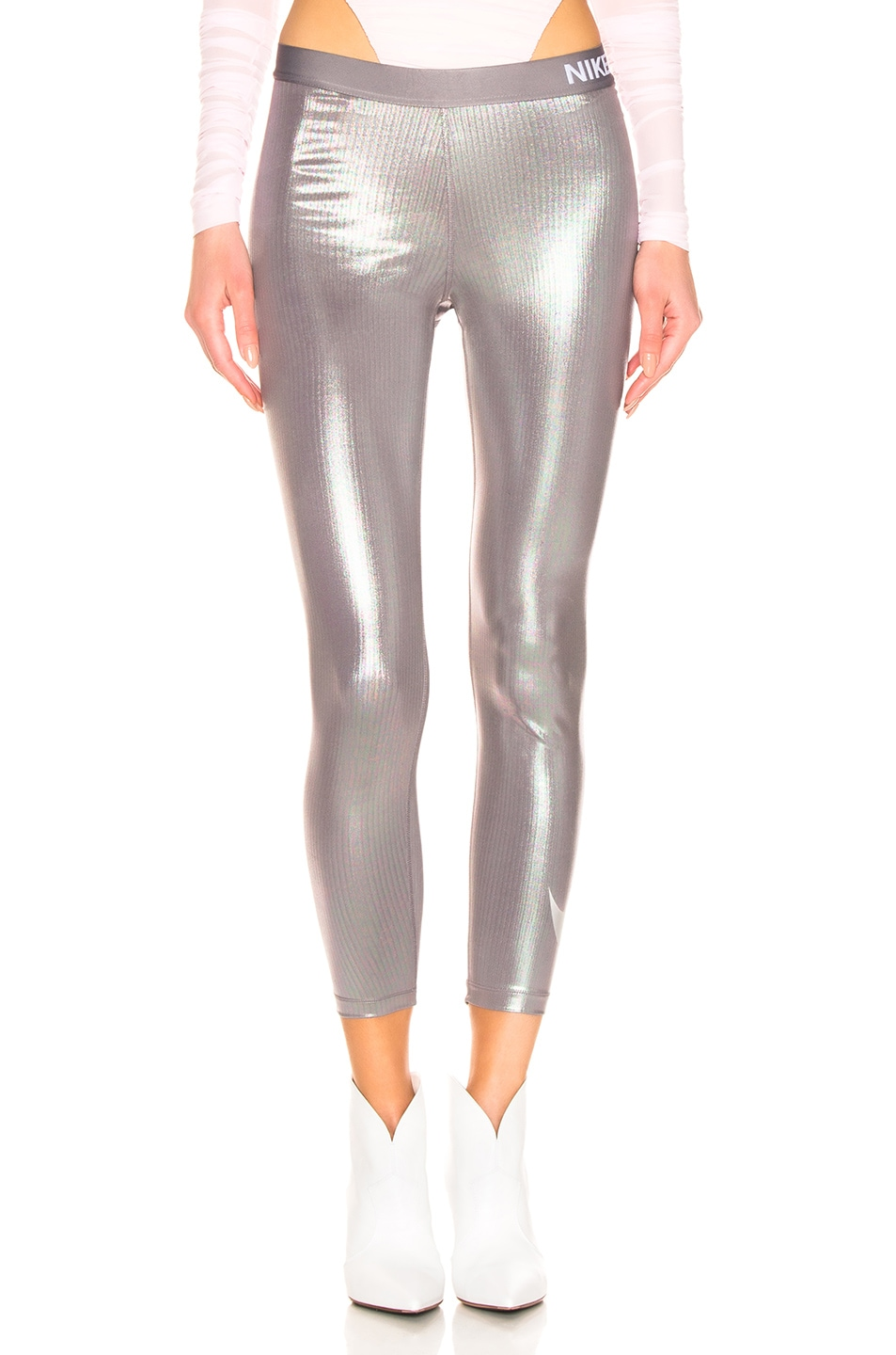 Image 2 of 1017 ALYX 9SM x Nike Training Legging in Silver