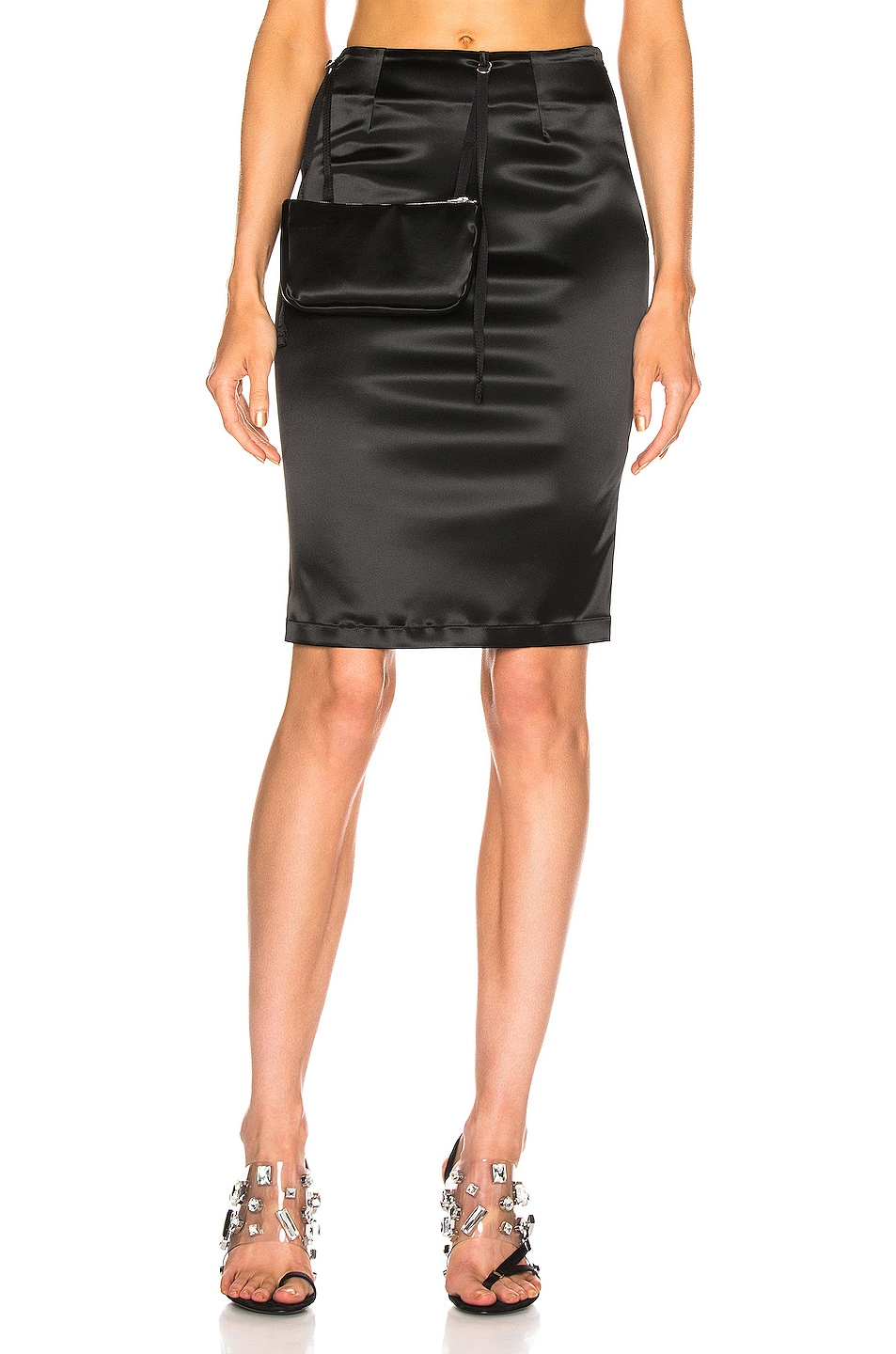 Image 1 of 1017 ALYX 9SM Stylo Skirt with Pouch in Black