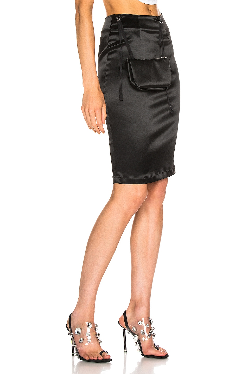Image 2 of 1017 ALYX 9SM Stylo Skirt with Pouch in Black