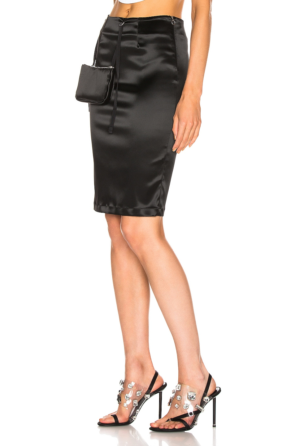 Image 3 of 1017 ALYX 9SM Stylo Skirt with Pouch in Black
