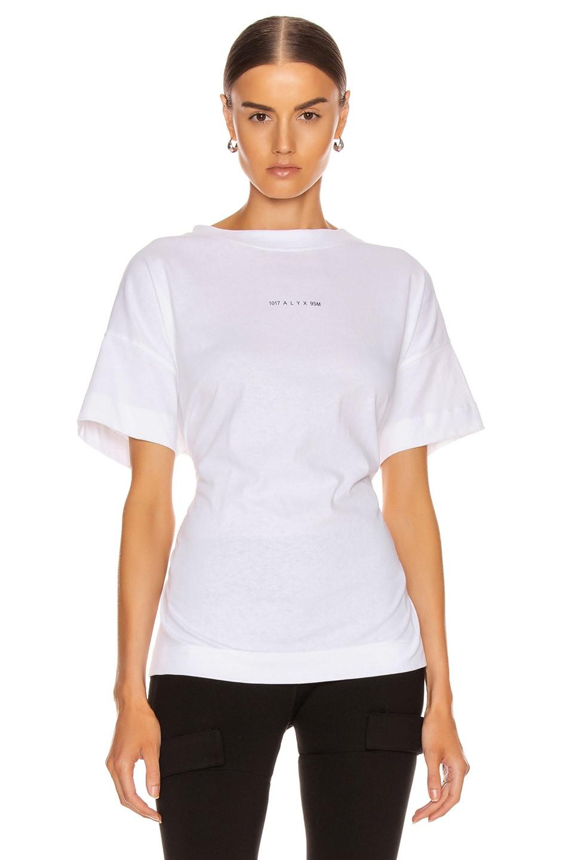 Image 2 of 1017 ALYX 9SM Short Sleeve Hook Tee in White