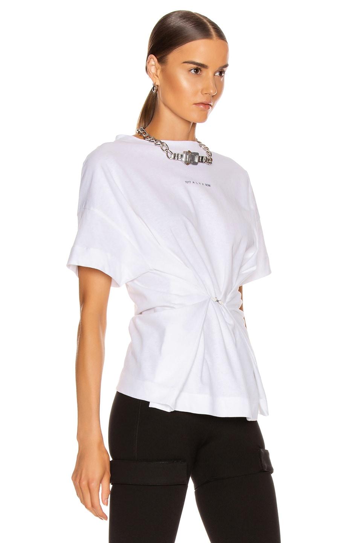 Image 3 of 1017 ALYX 9SM Short Sleeve Hook Tee in White