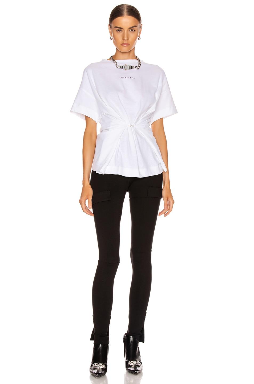 Image 5 of 1017 ALYX 9SM Short Sleeve Hook Tee in White