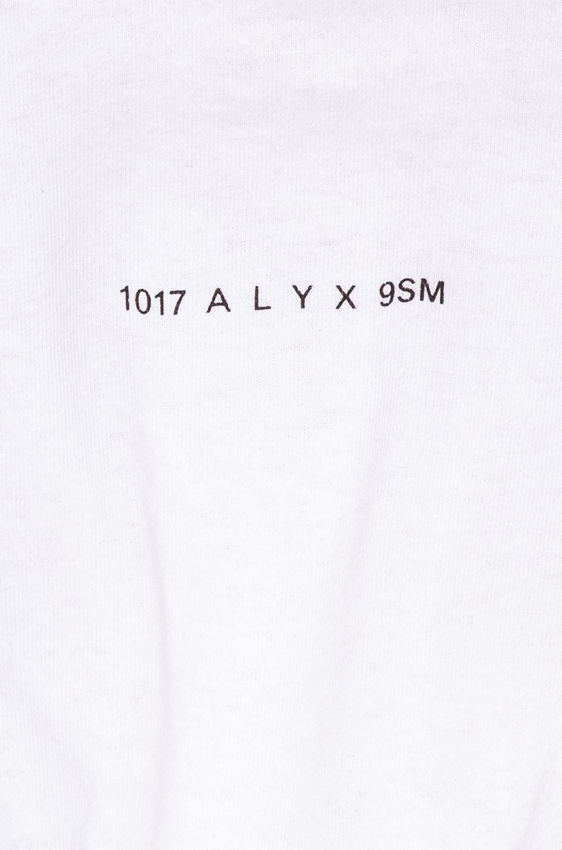 Image 6 of 1017 ALYX 9SM Short Sleeve Hook Tee in White