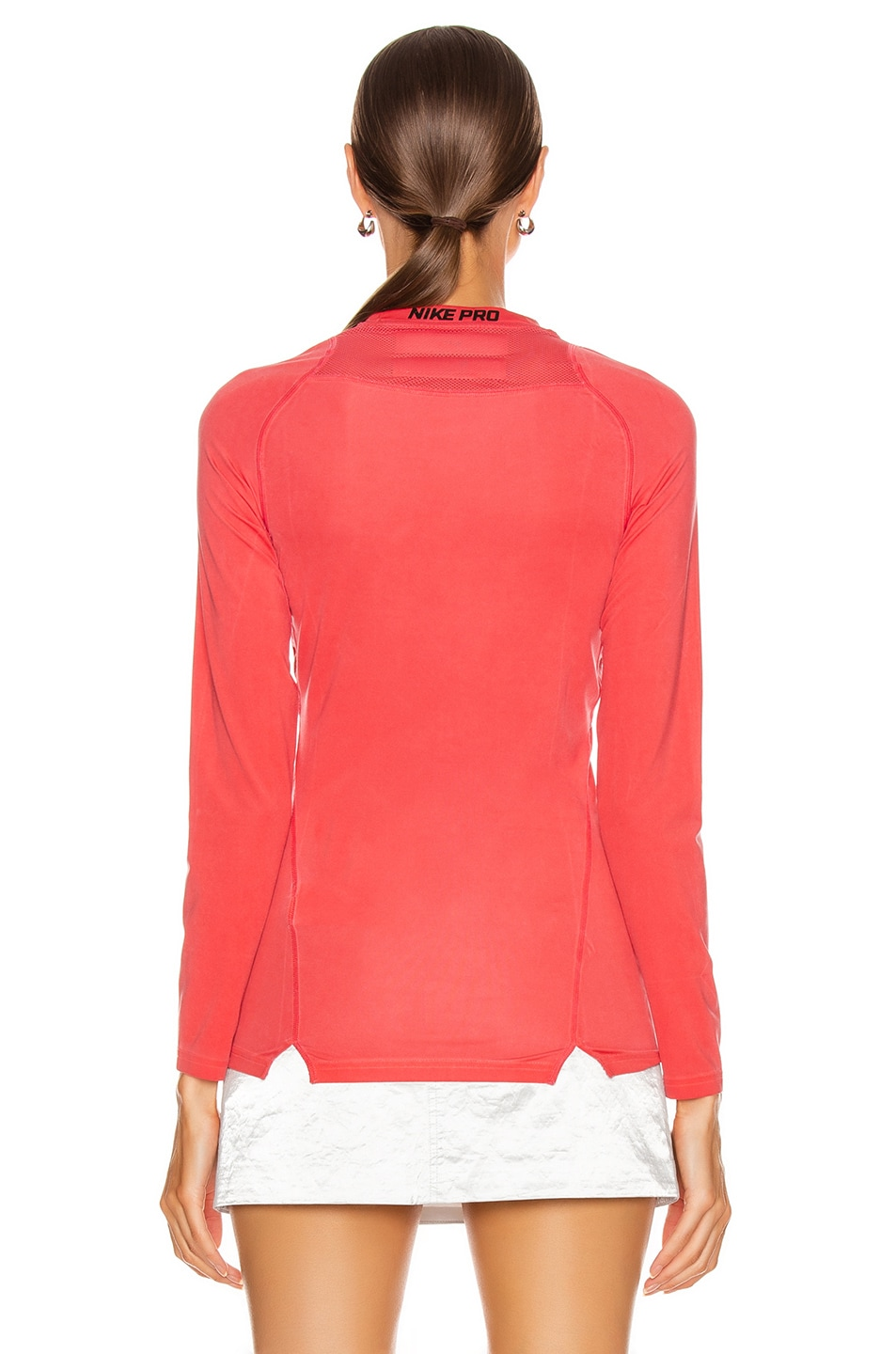 Image 5 of 1017 ALYX 9SM X Nike Long Sleeve T Shirt in Red