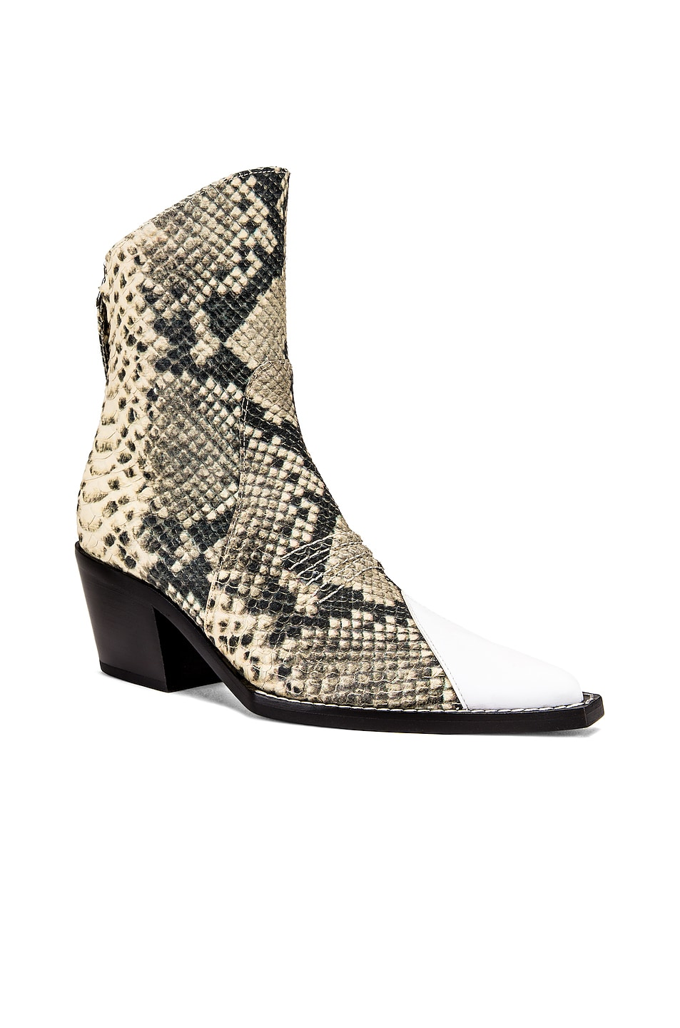 Image 2 of 1017 ALYX 9SM Tex Boot in Black & Cream