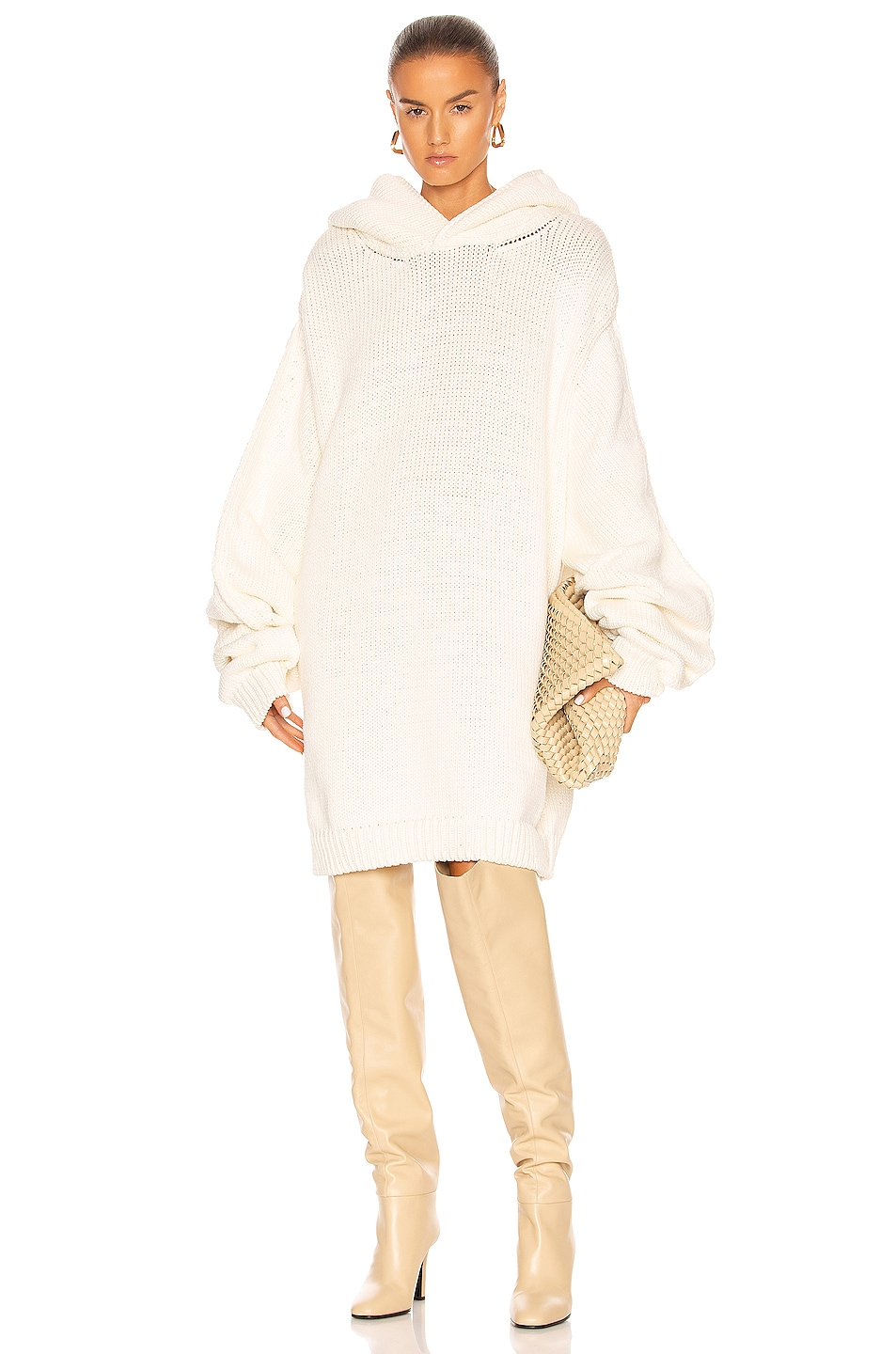 Image 1 of Aisling Camps Oversized Hoodie in Ivory