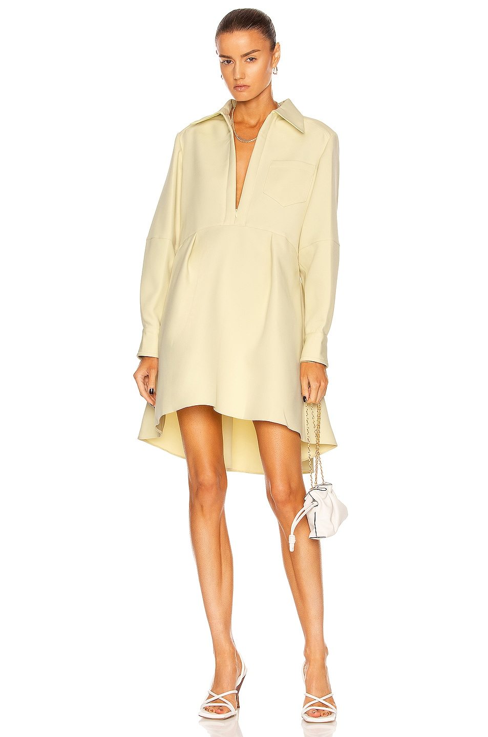 Image 1 of AKNVAS Kate Dress in Blond