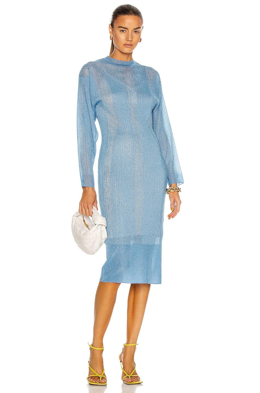 Image 1 of AKNVAS Sally Dress in Sky