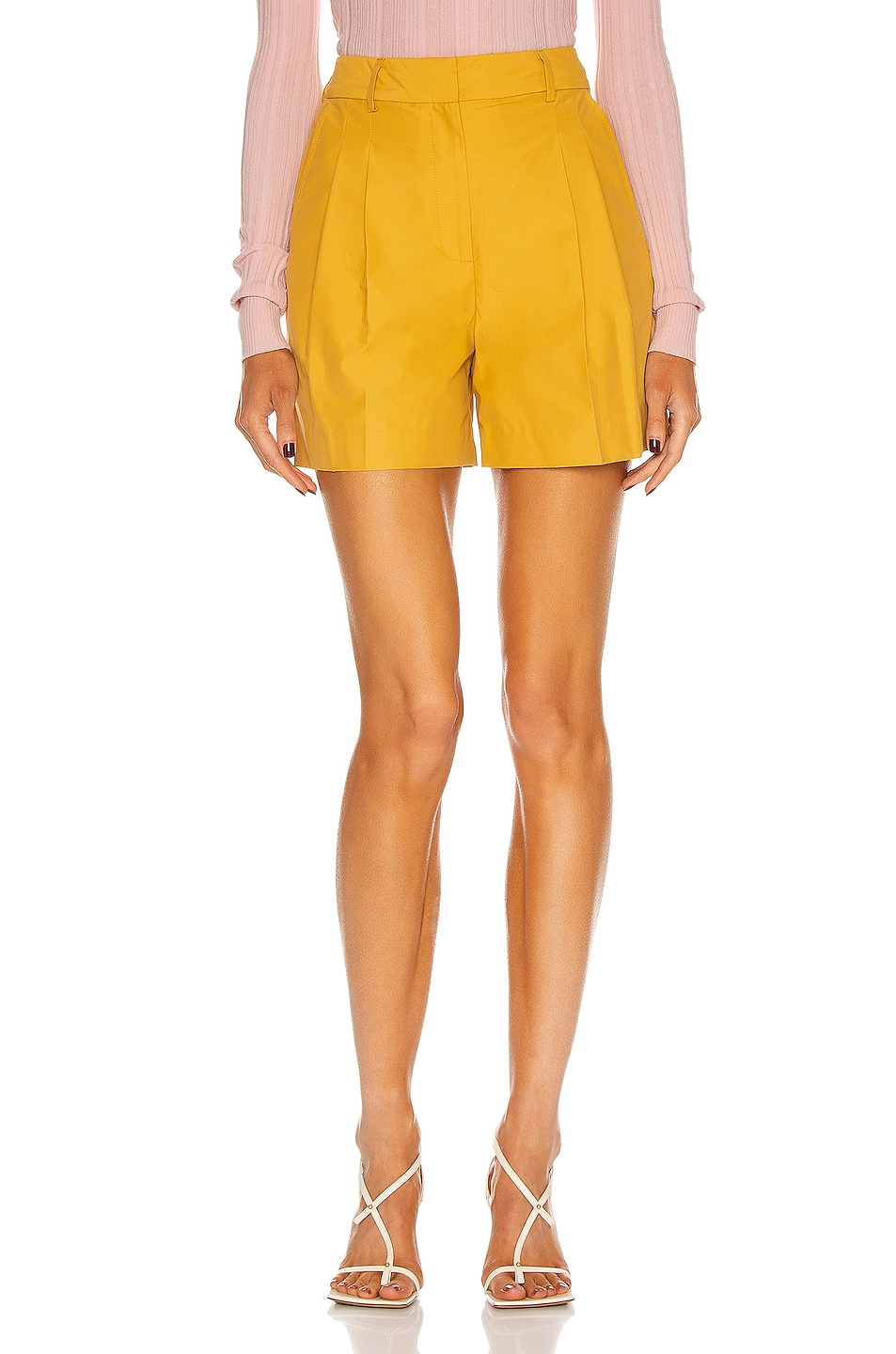 Image 1 of AKNVAS Winona Short in Turmeric
