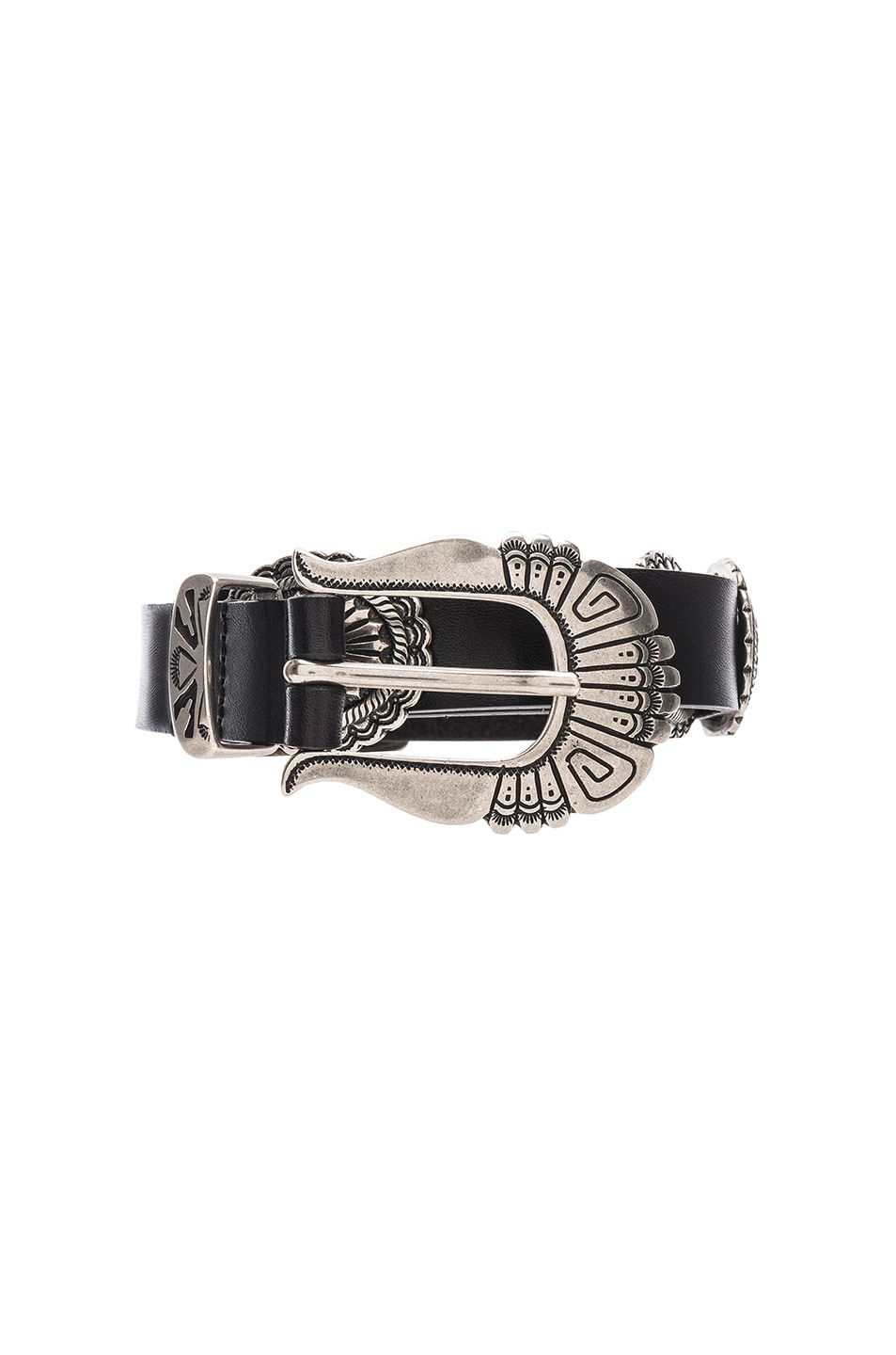 Image 1 of ALBERTA FERRETTI Western Belt in Black