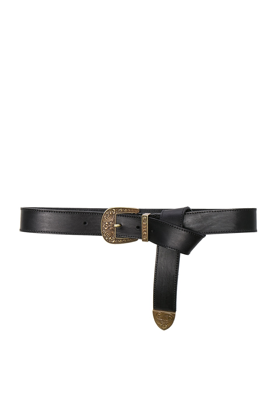 Image 1 of ALBERTA FERRETTI Western Belt in Fantasy Print Black