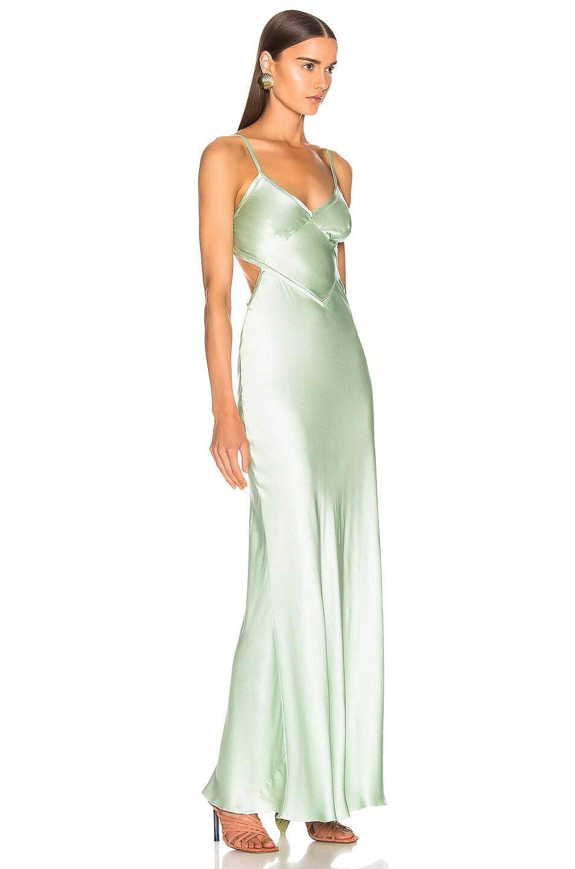 Image 2 of ALBERTA FERRETTI Slip Dress in Green