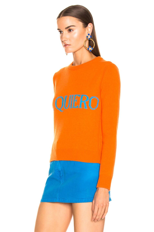 Image 4 of ALBERTA FERRETTI Te Quiera Sweater in Orange