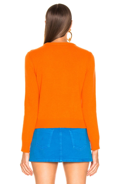 Image 5 of ALBERTA FERRETTI Te Quiera Sweater in Orange