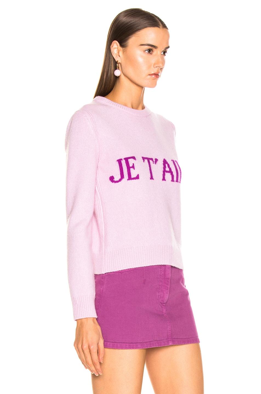 Image 3 of ALBERTA FERRETTI Je Taime Sweater in Light Pink