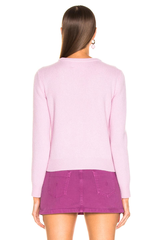Image 5 of ALBERTA FERRETTI Je Taime Sweater in Light Pink