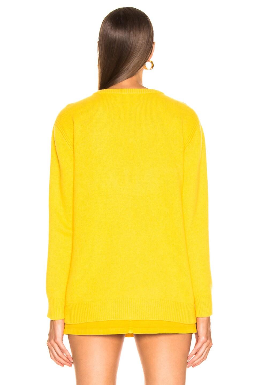 Image 5 of ALBERTA FERRETTI Latin Lover Sweater in Yellow