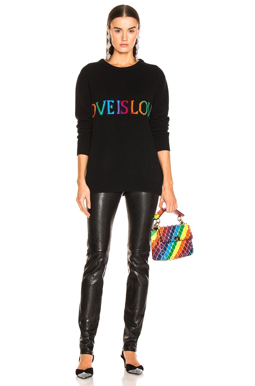 Image 5 of ALBERTA FERRETTI Love is Love Sweater in Black