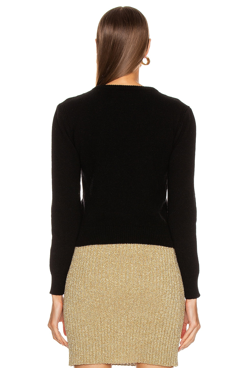 Image 3 of ALBERTA FERRETTI It's A Wonderful World Sweater in Black
