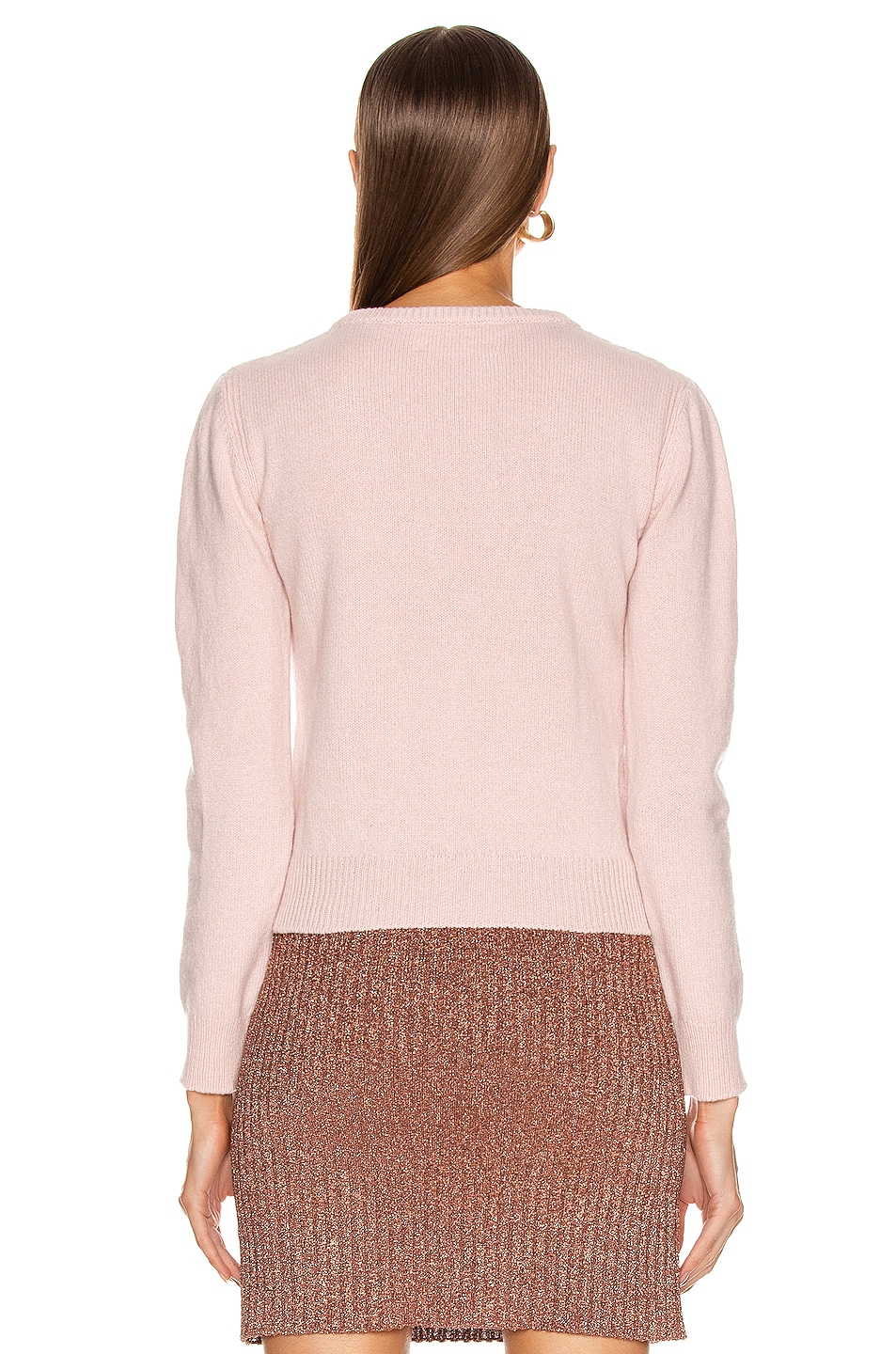Image 3 of ALBERTA FERRETTI It's A Wonderful World Sweater in Pink