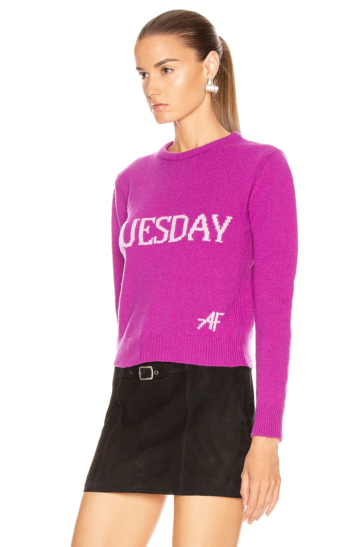 Image 3 of ALBERTA FERRETTI Tuesday Sweater in Fantasy Violet