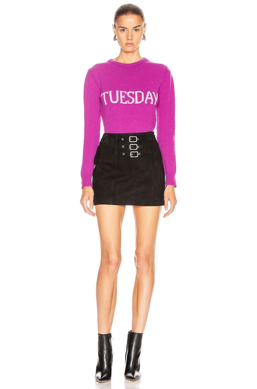 Image 5 of ALBERTA FERRETTI Tuesday Sweater in Fantasy Violet