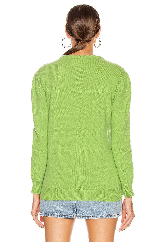 Image 4 of ALBERTA FERRETTI Sunday Sweater in Fantasy Green
