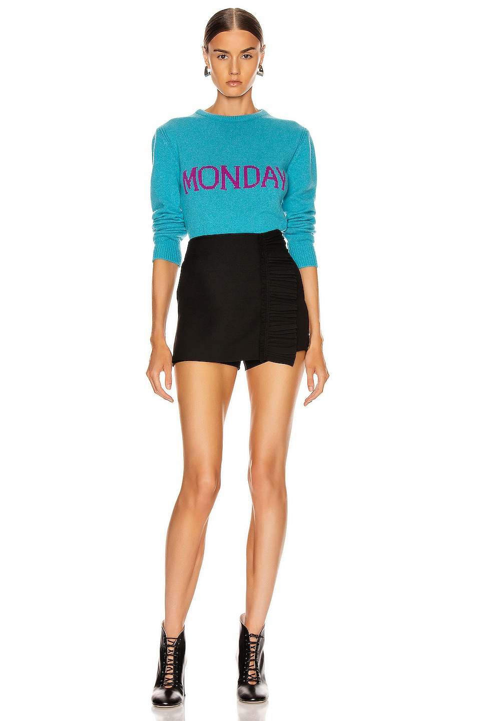 Image 5 of ALBERTA FERRETTI Monday Sweater in Fantasy Blue