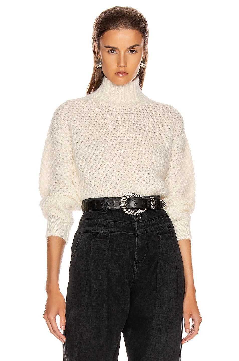 Image 1 of ALBERTA FERRETTI Chunky Sweater in White