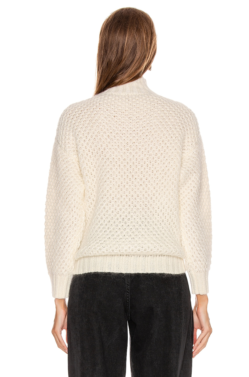 Image 3 of ALBERTA FERRETTI Chunky Sweater in White