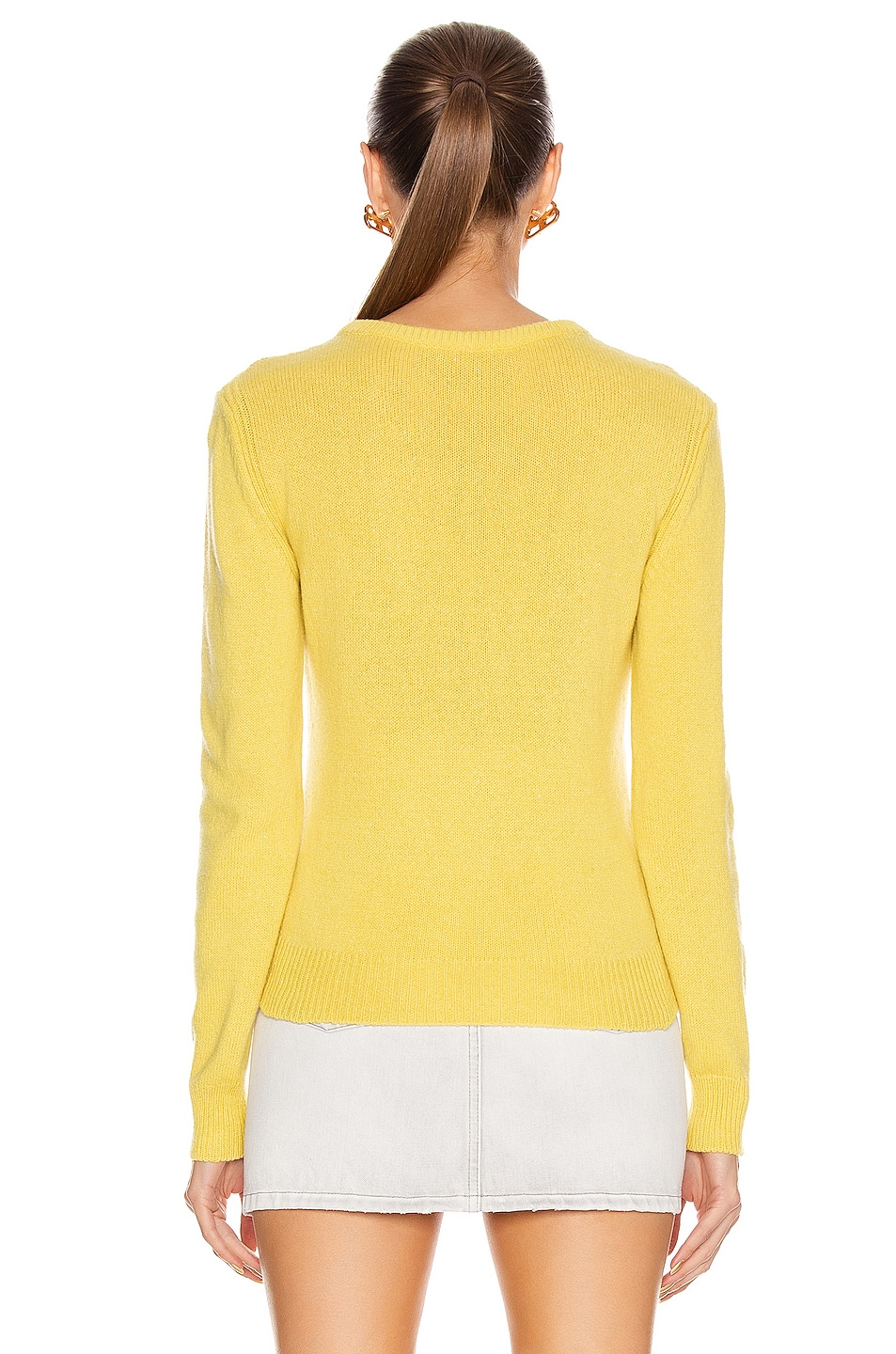 Image 4 of ALBERTA FERRETTI Everyday Is An Adventure Sweater in Yellow & Blue