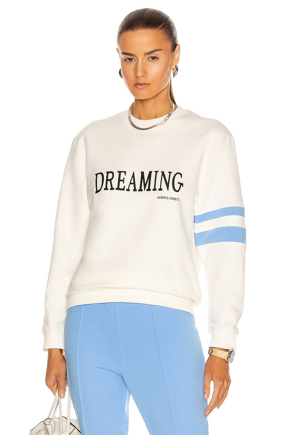 Image 1 of ALBERTA FERRETTI Dreaming Sweater in Ivory