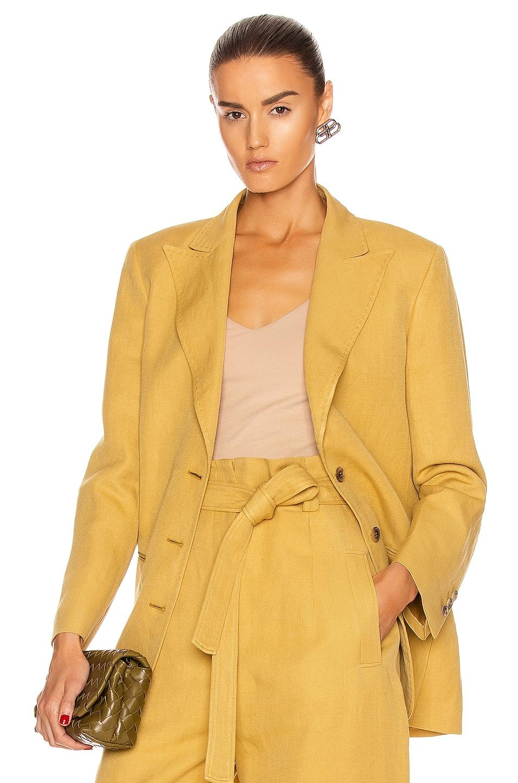 Image 1 of ALBERTA FERRETTI Tailored Blazer in Tan