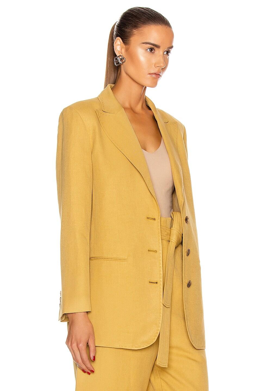 Image 3 of ALBERTA FERRETTI Tailored Blazer in Tan