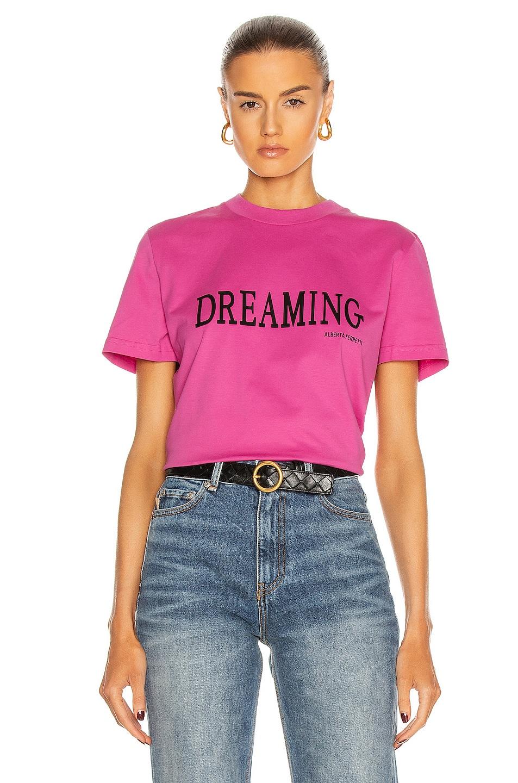Image 1 of ALBERTA FERRETTI Dreaming T Shirt in Violet