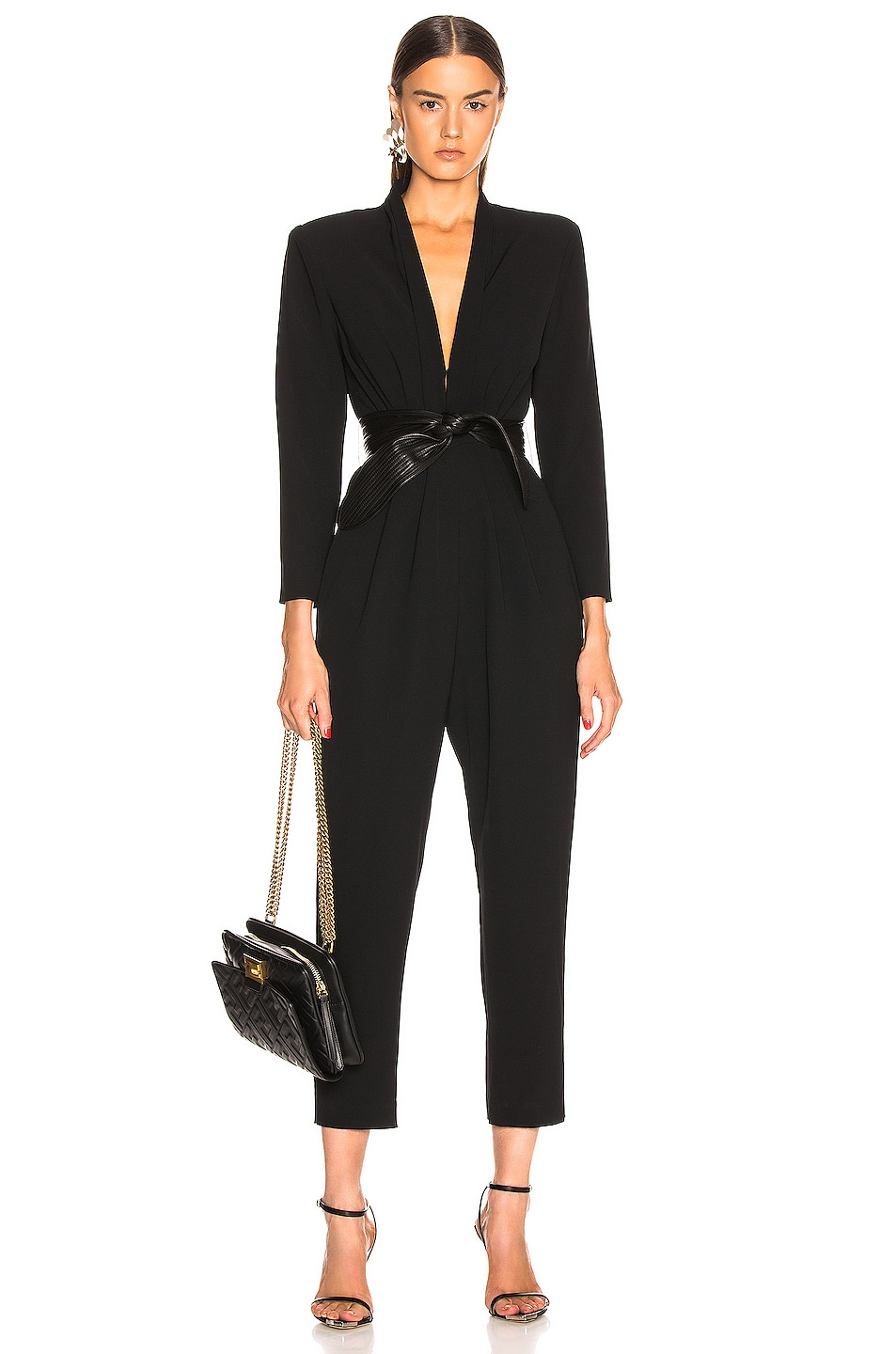 Image 1 of A.L.C. Kieran II Jumpsuit in Black