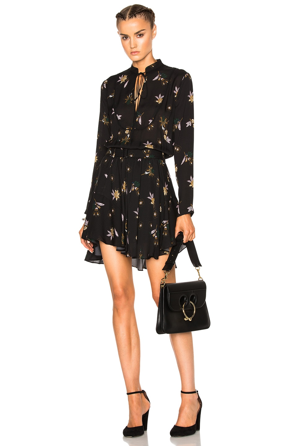 67fddbc81d8cd6 Image 1 of A.L.C. Campbell Dress in Black Multi